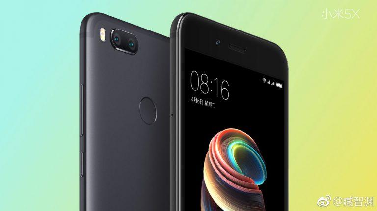 смартфон Xiaomi Mi 5x характеристики