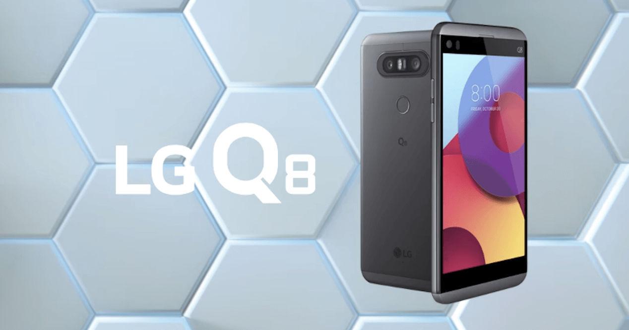 Смартфон LG Q8 — мини V20 с защитой IP67