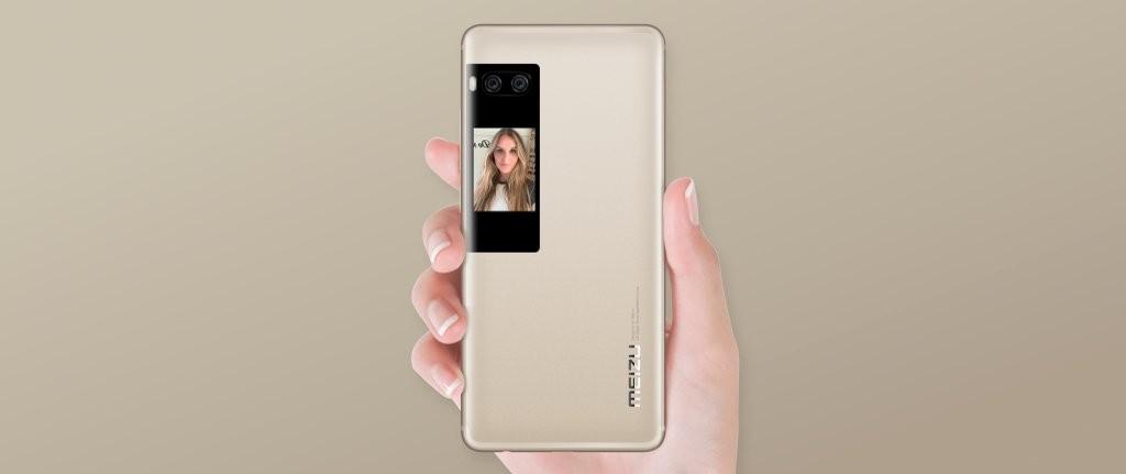 Meizu Pro 7 дополнительный экран