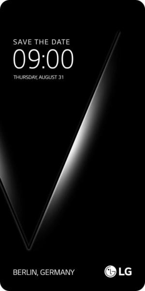 LG V30 приглашение