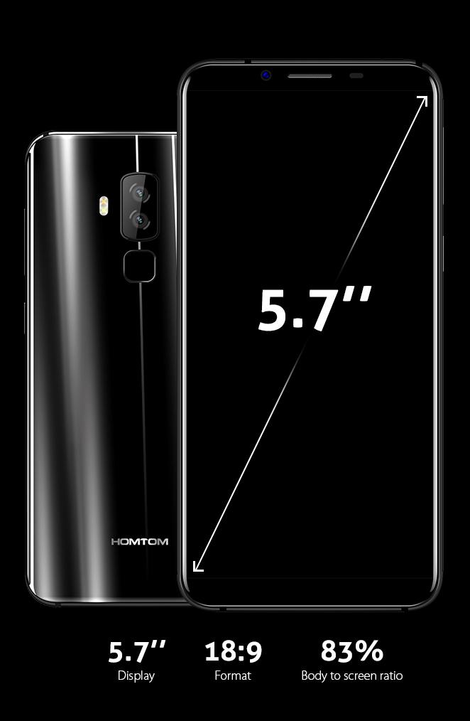 дисплей Homtom S8