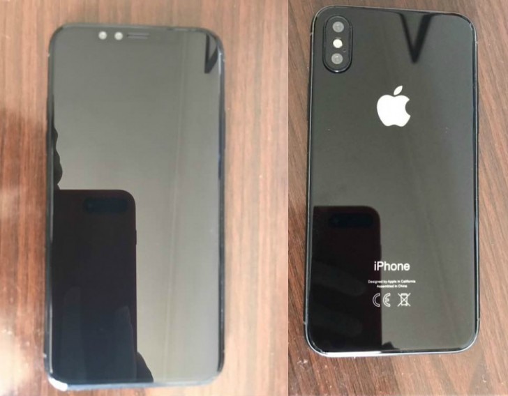 рендер iPhone 8 по версии GSMArena