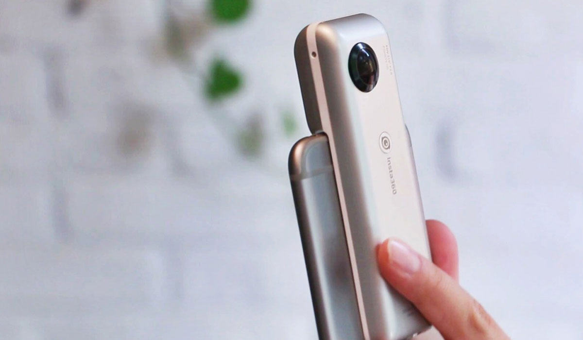 компактная камера для iPhone Insta360 Nano