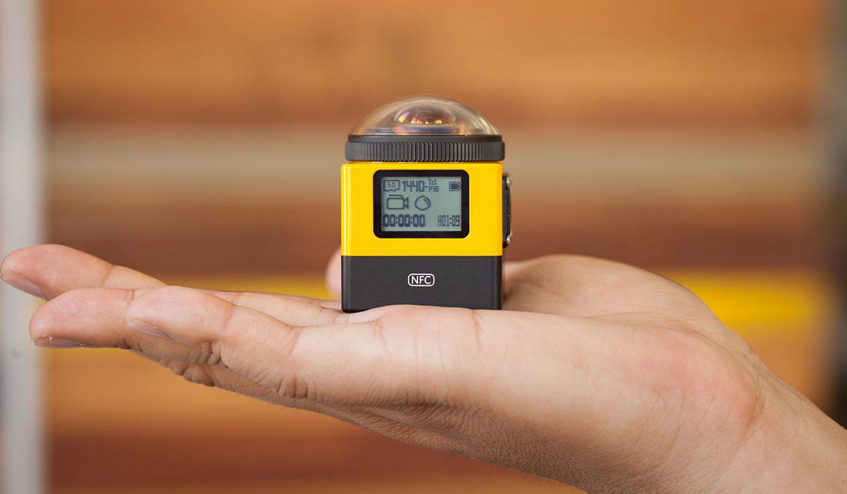панорамная экшн-камера Kodak SP360