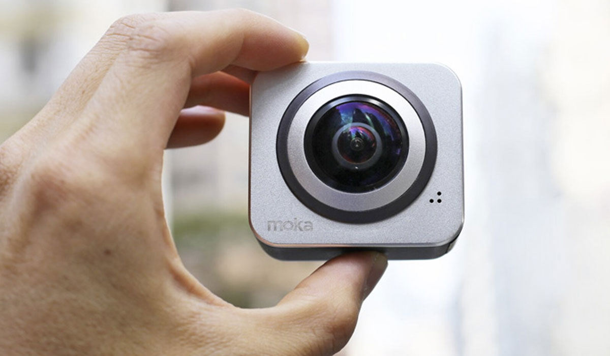 компактная панорамная камера Moka36