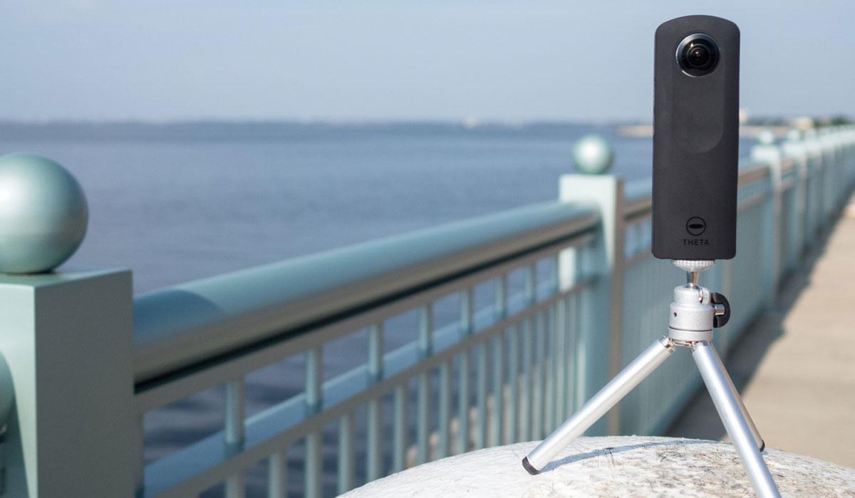 панорамная камера Ricoh Theta S