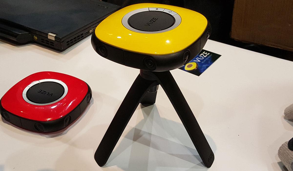 камера Vuze Camera