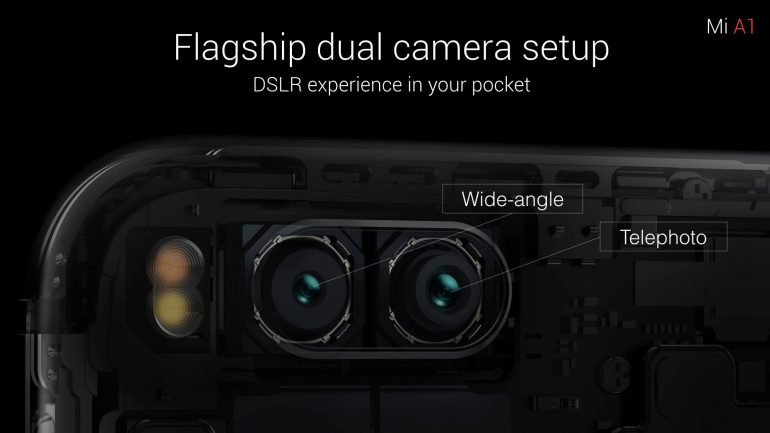 xiaomi mi A1 модуль камеры