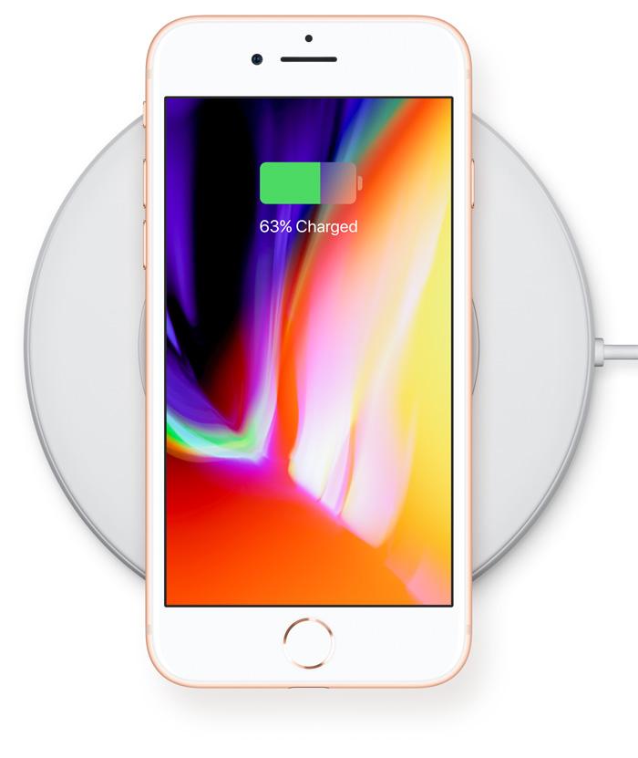 беспроводная зарядка iPhone 8