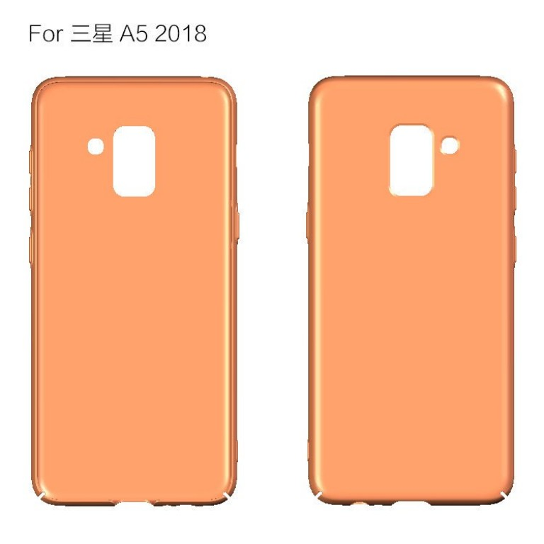 Samsung Galaxy A5 2018 дизайн