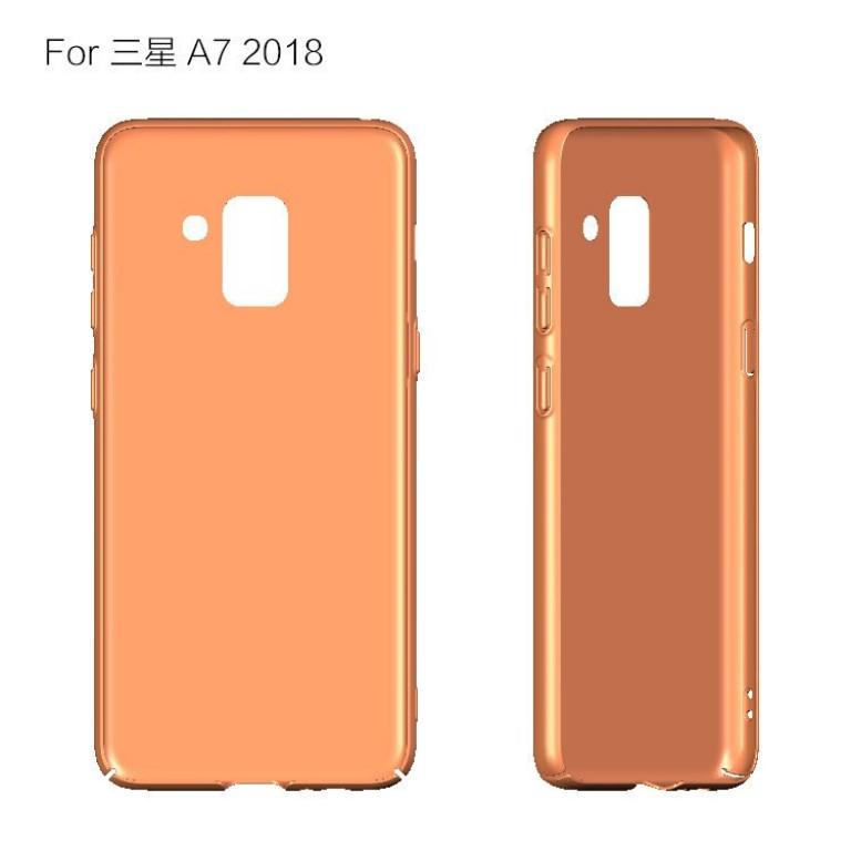 Samsung Galaxy A5 2018 дизайн кнопки