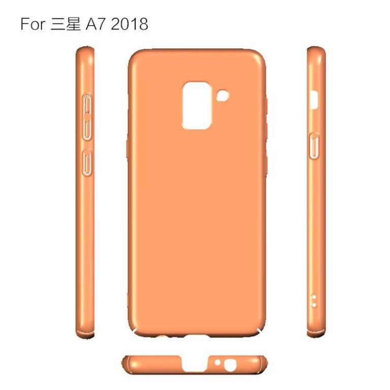 Samsung Galaxy A5 2018 дизайн разъемы