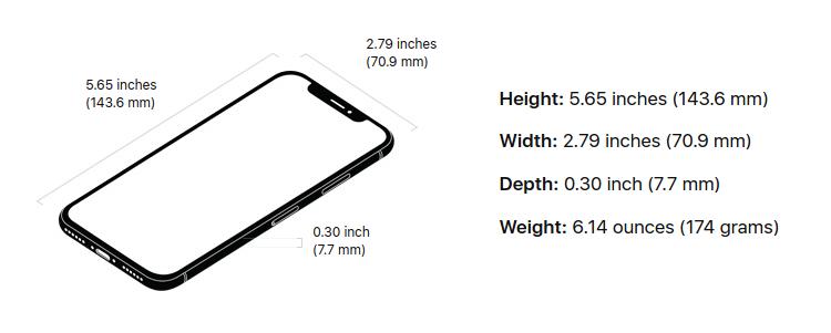 iphone X технические характеристики