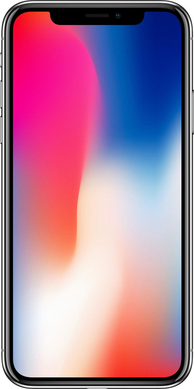 iPhone X дизайн фронтальной панели