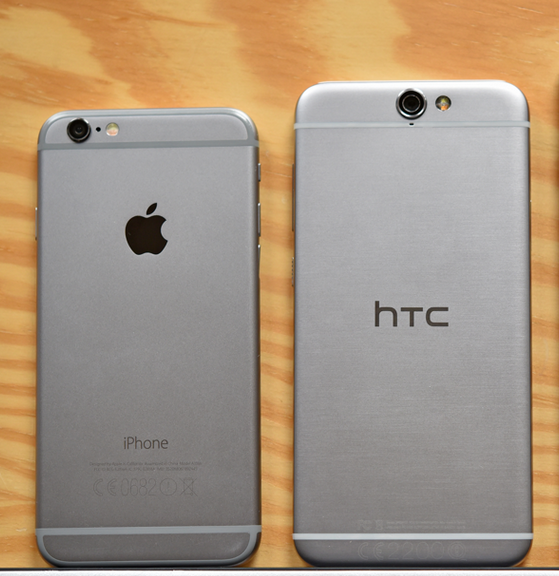 htc a9 vs iphone 6s