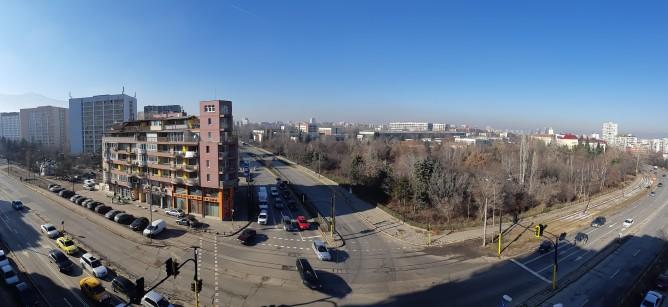 пример панорамного фото с камеры Galaxy A8