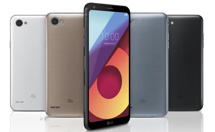 смартфон LG Q6 обзор