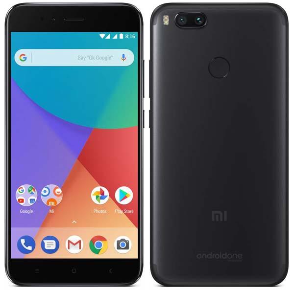 Xiaomi Mi A1 в черном цвете