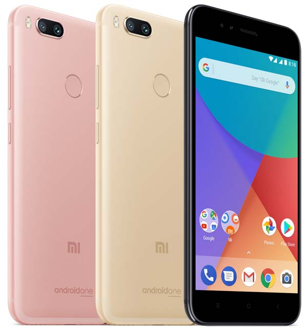 Xiaomi Mi A1 цвета