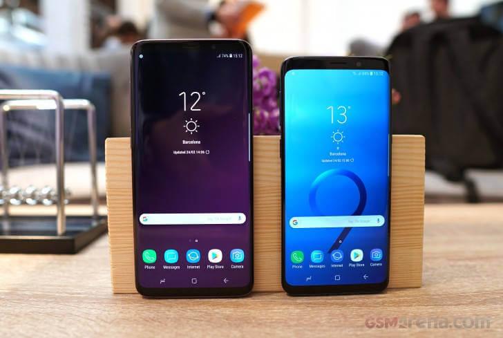 Samsung Galaxy S9 и Galaxy S9+