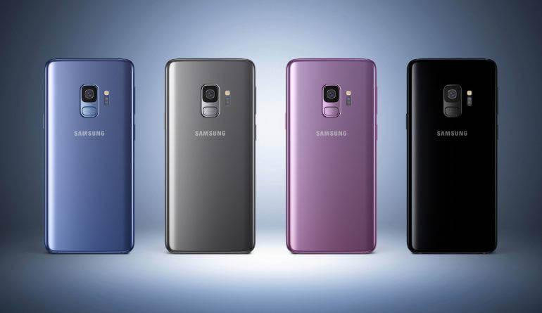 Galaxy S9 в Антуту