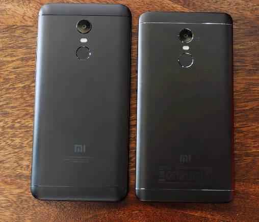 Redmi Note 4 и Redmi 5 Plus