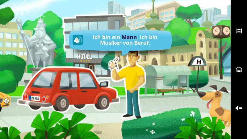бесплатное приложение для изучения немецкого языка
