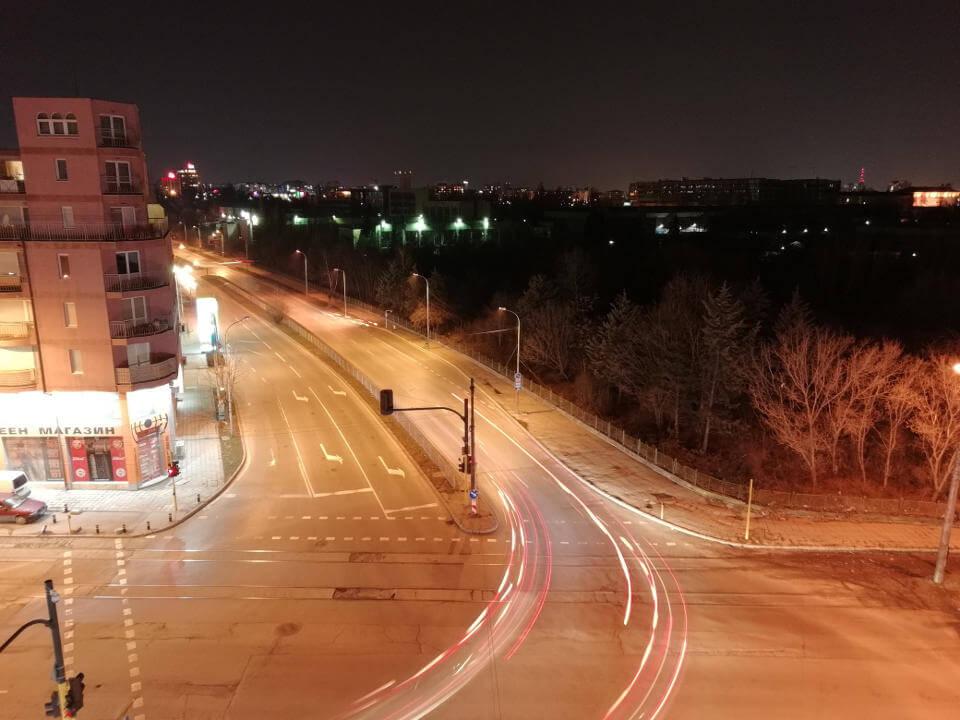 Huawei P Smart камера примеры ночных фото