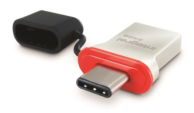 флешка с USB Type C