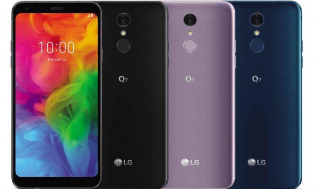 LG Q7 характеристики