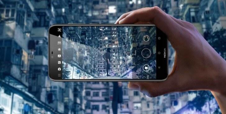 телефон Nokia X6 камера