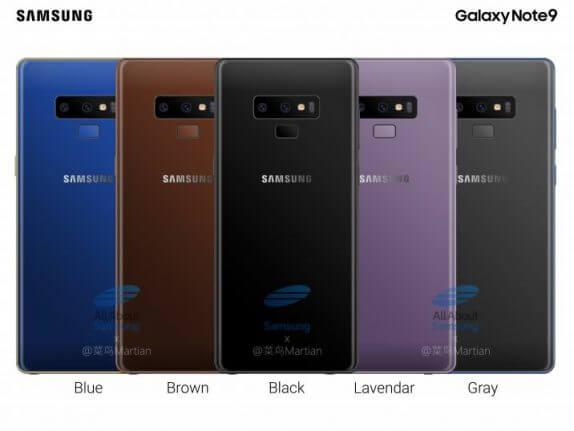 Galaxy Note 9 последние новости