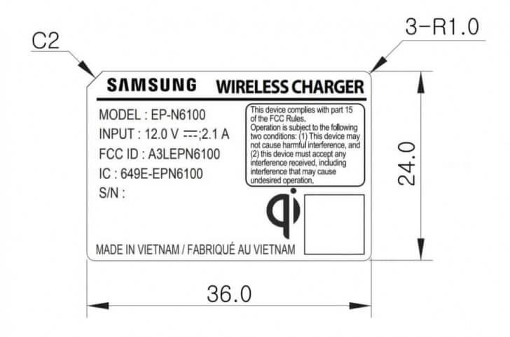 Samsung Galaxy S10 беспроводная зарядка