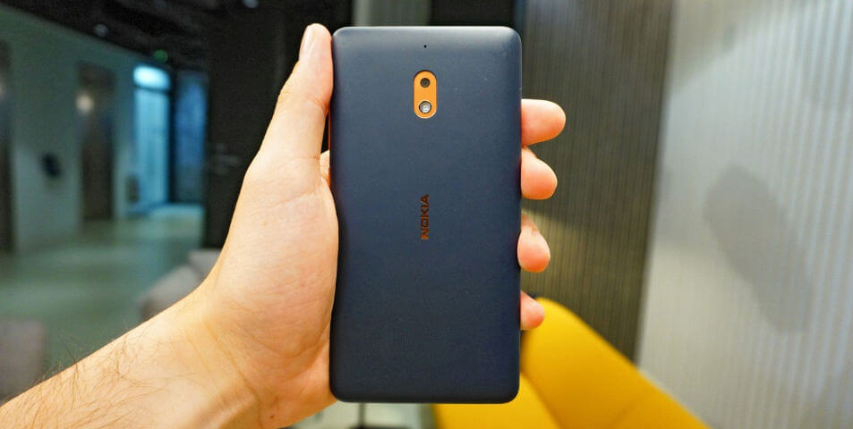 Nokia 2.1 — дешевый смартфон с мощной батареей