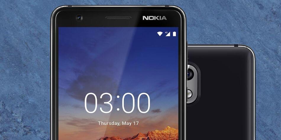 Смартфон Nokia 3.1: характеристики, цена, дата выхода