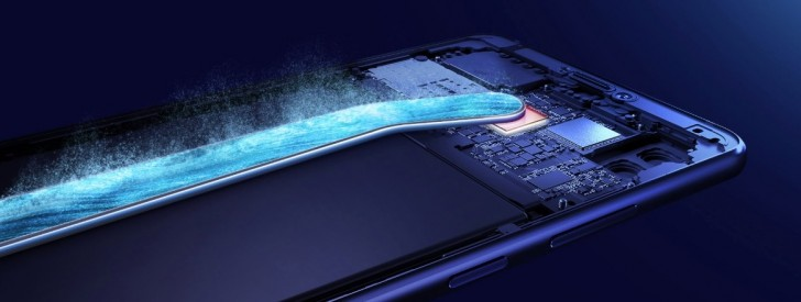 Huawei Honor Note 10 процессор, система охлаждения