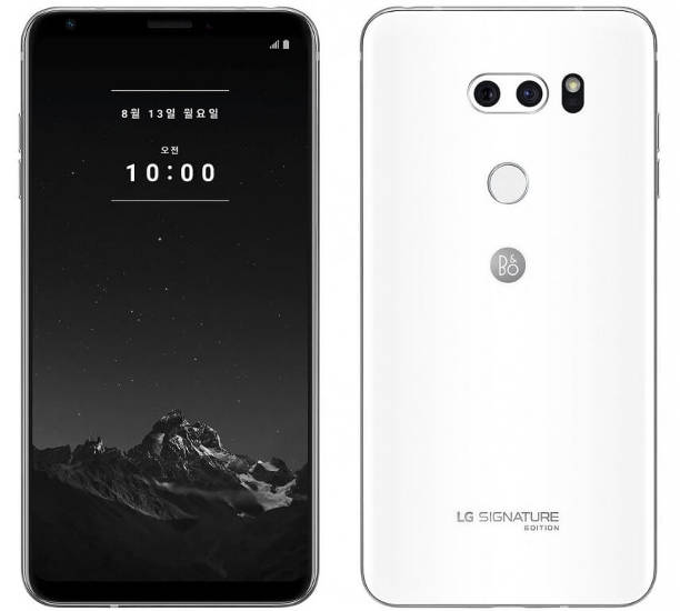 LG V35 ThinQ Signature Edition белый