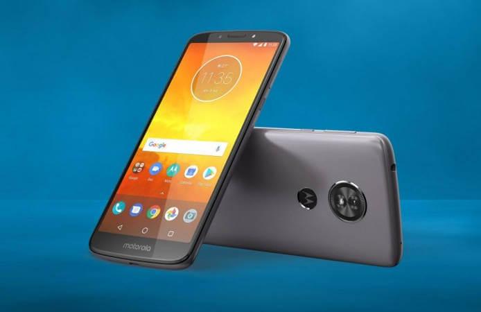 Moto E5 Plus смартфон с мощной батареей 5000 мАч