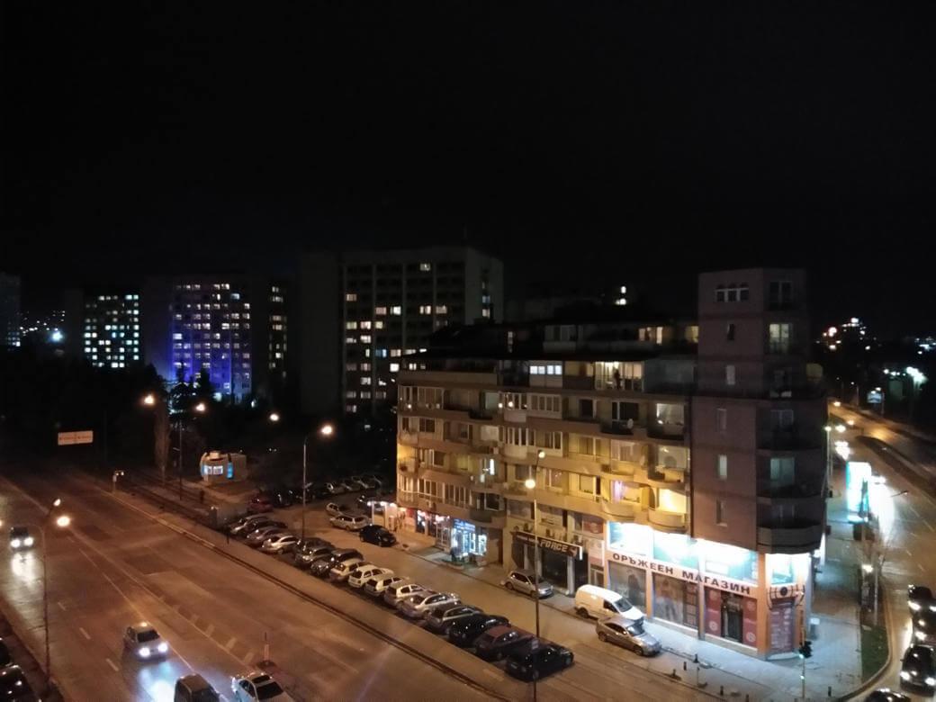 vivo V7 обзор, пример фото при плохом освещении