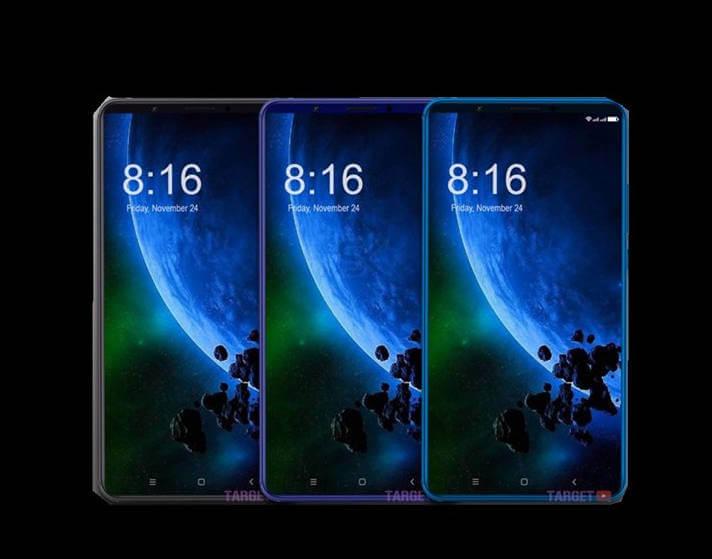 Xiaomi Mi Max 3 рендеры
