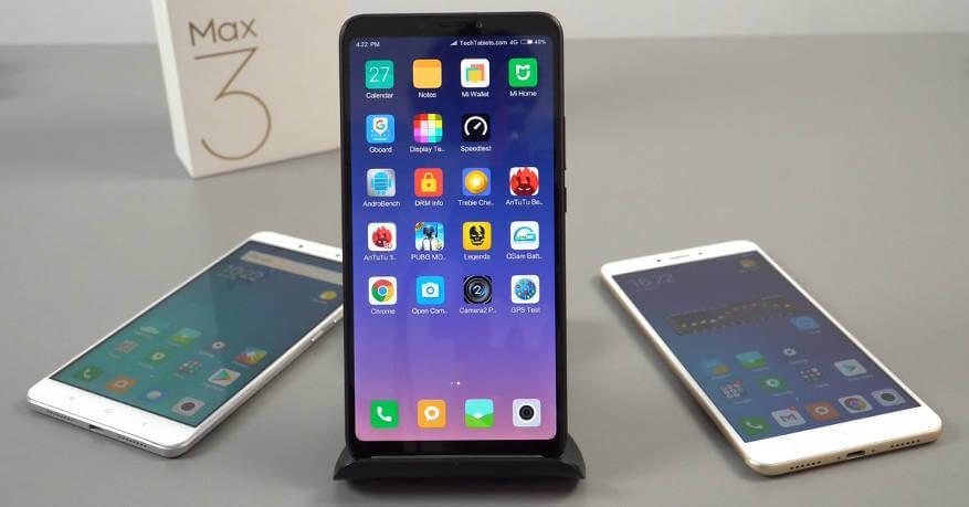 Mi Max 3: обзор от GSMArena, часть первая