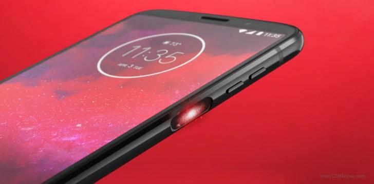 Moto Z3 сканер отпечатка