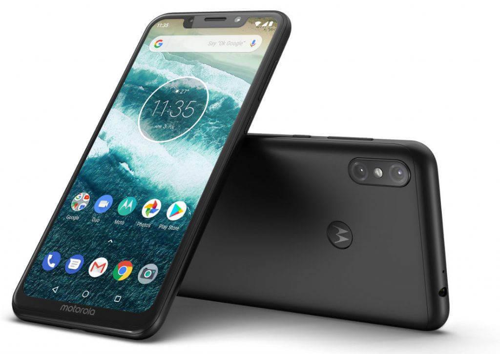 смартфон с батареей 5000 мАч Motorola One Power