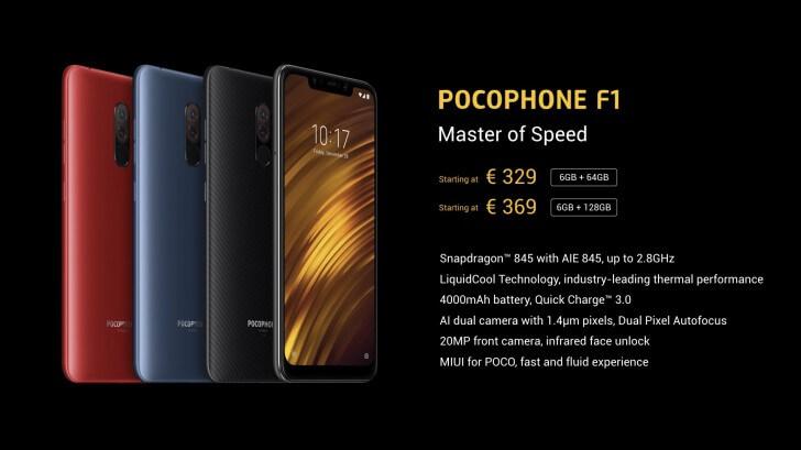 Pocophone F1 цена