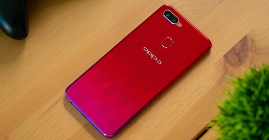 Смартфон Oppo F9: обзор камеры, тесты экрана