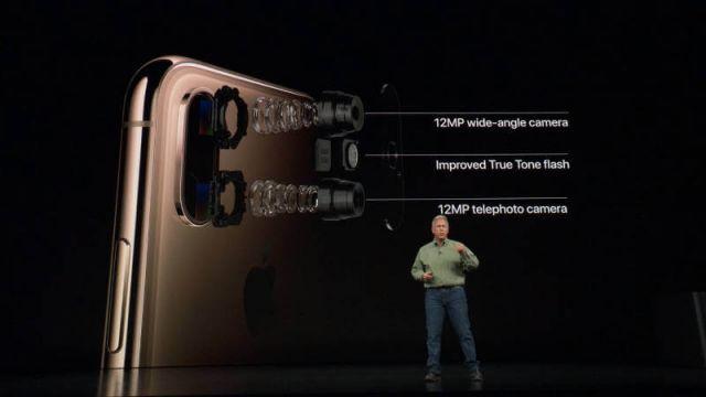 iPhone Xs камера