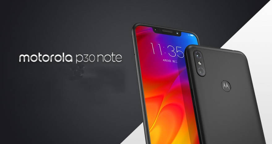 Motorola Moto P30 Note: характеристики и цены