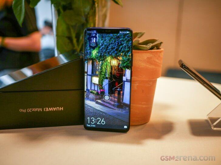 Huawei Mate 20 Pro характеристики экрана