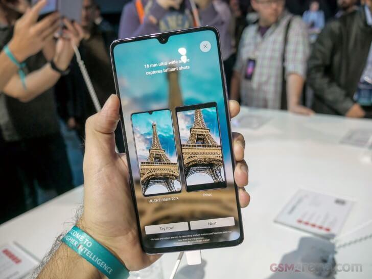 Huawei Mate 20 X характеристики дата выхода