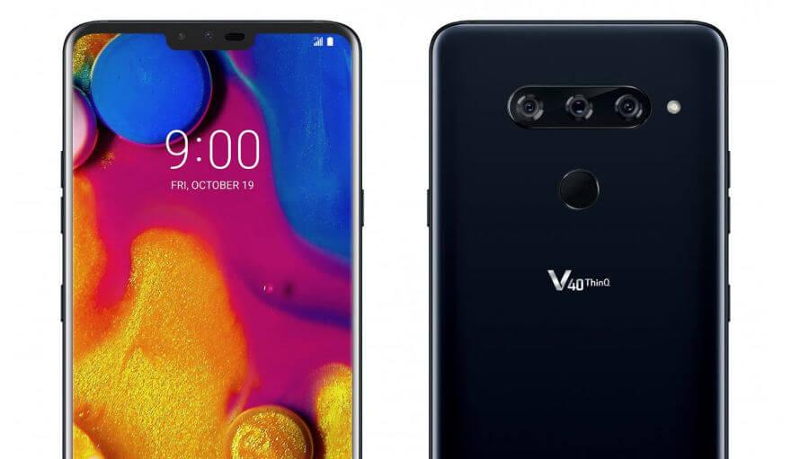 LG V40: характеристики, дата выхода и цена